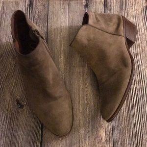 Sam Edelman tan leather booties Sz 7.5
